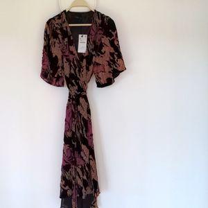 Zara Velvet dress , NWT, X-S